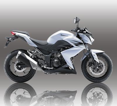 Kawasaki Z250 White