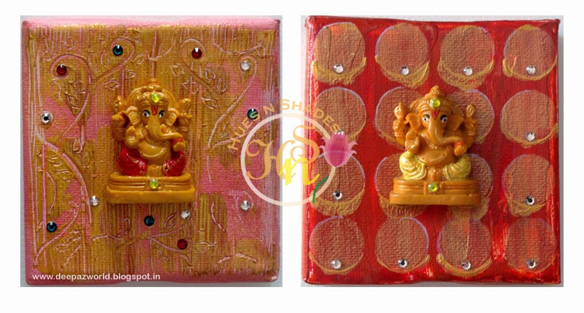 Mixed-Media-Ganesha-Pink-and-Brick-red-Hues-n-Shades