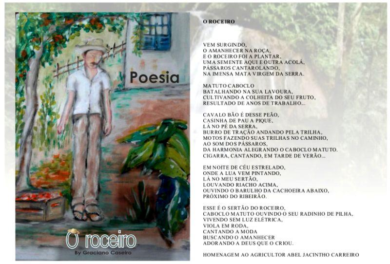 Poesia O Roceiro