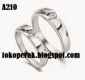 Cincin perak pernikahan