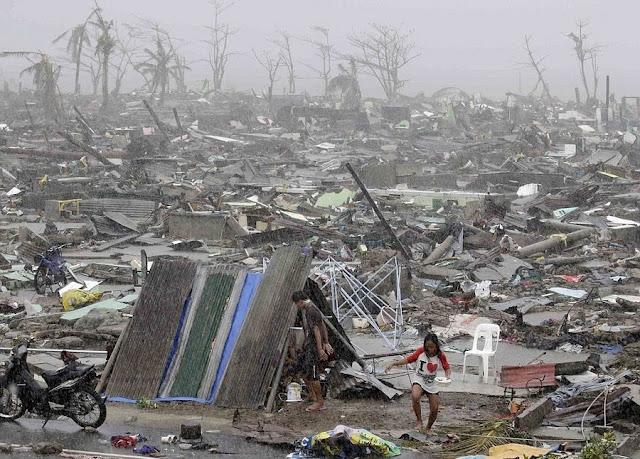 Тайфун »Хайян» на Филаппинах
