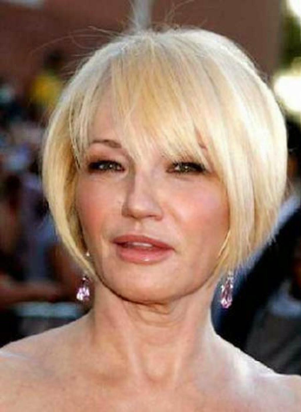 Прически для женщин после 40 лет фото если тонкие волосы