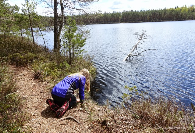 My daughter in my favourite place / Uraäidin Ruuhkavuodet