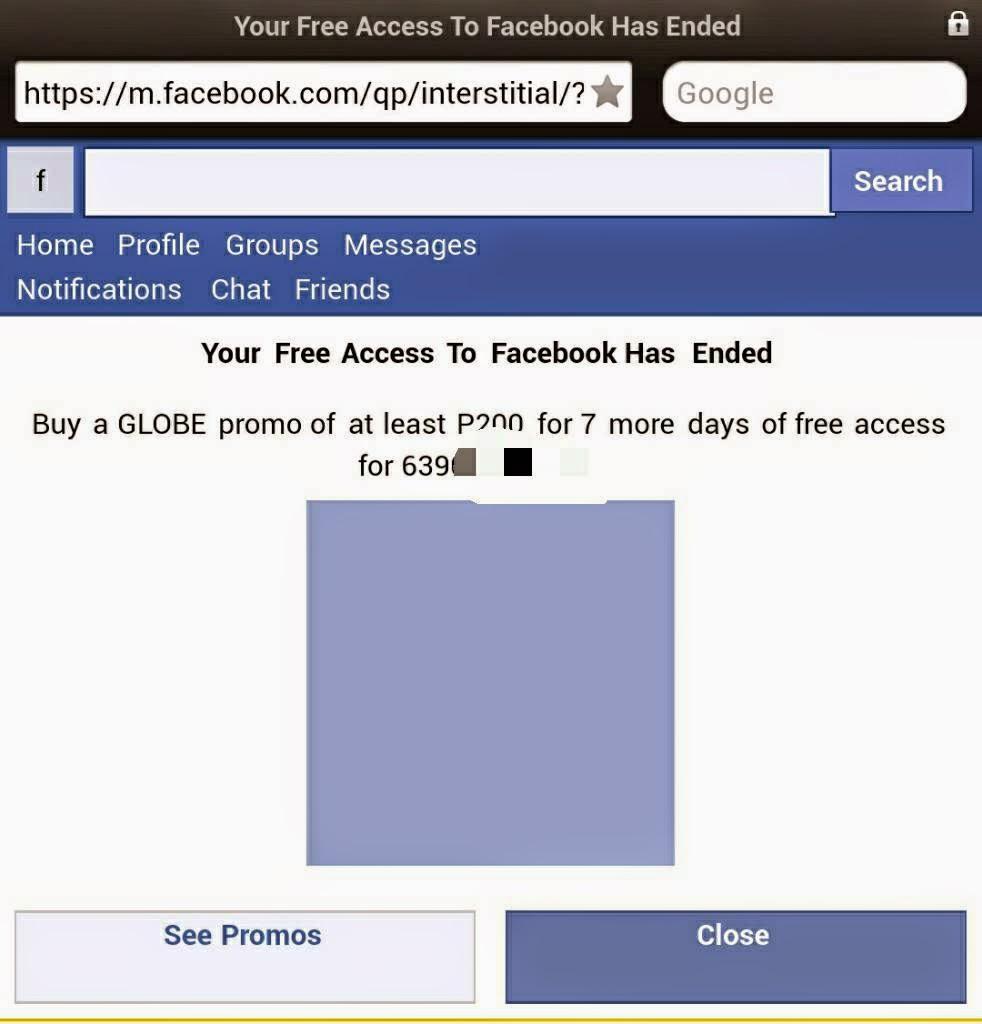 Facebook discount coupon