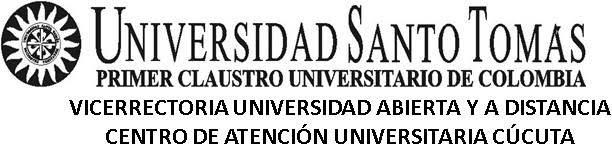 Universidad Santo Tomas Cucuta - CINCOVE