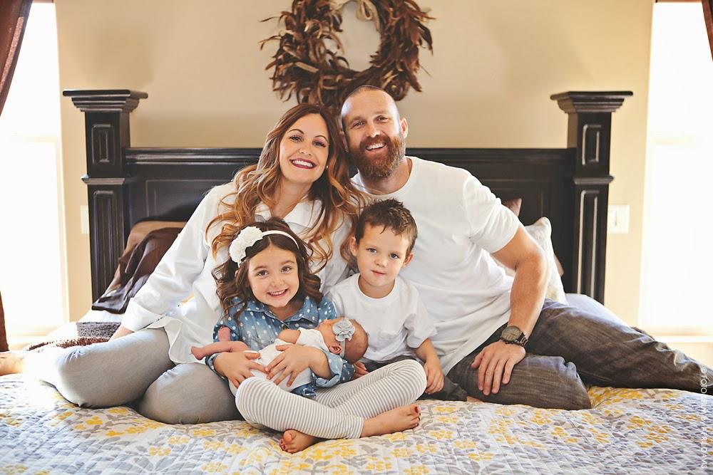 BOYER FAMILY: ST GEORGE UT LIFESTYLE & NEWBORN PHOTOGRAPHER
