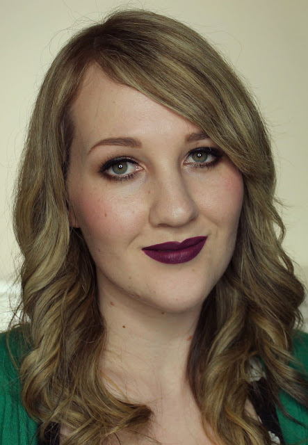 MUA Luxe Velvet Lip Lacquer - Kooky Swatches & Review
