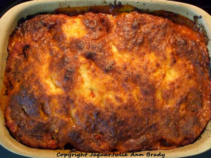 My Baked Eggplant Parmesan Recipe Done