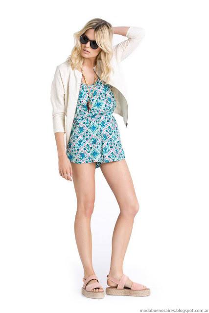 Moda Mujer Kevignston Mujer verano 2016.