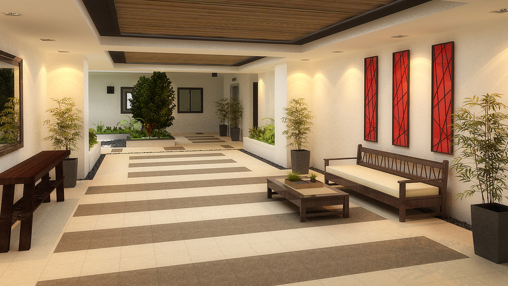 Considerations of dmci homes in creating dwellings for for Apartment lobby design