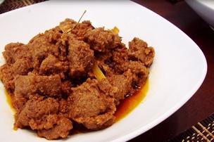 Resep masakan daging rendang