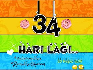 34 hari ke bulan ramadhan