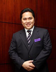 Profil Erick Thohir - BULETIN TOKOH DUNIA
