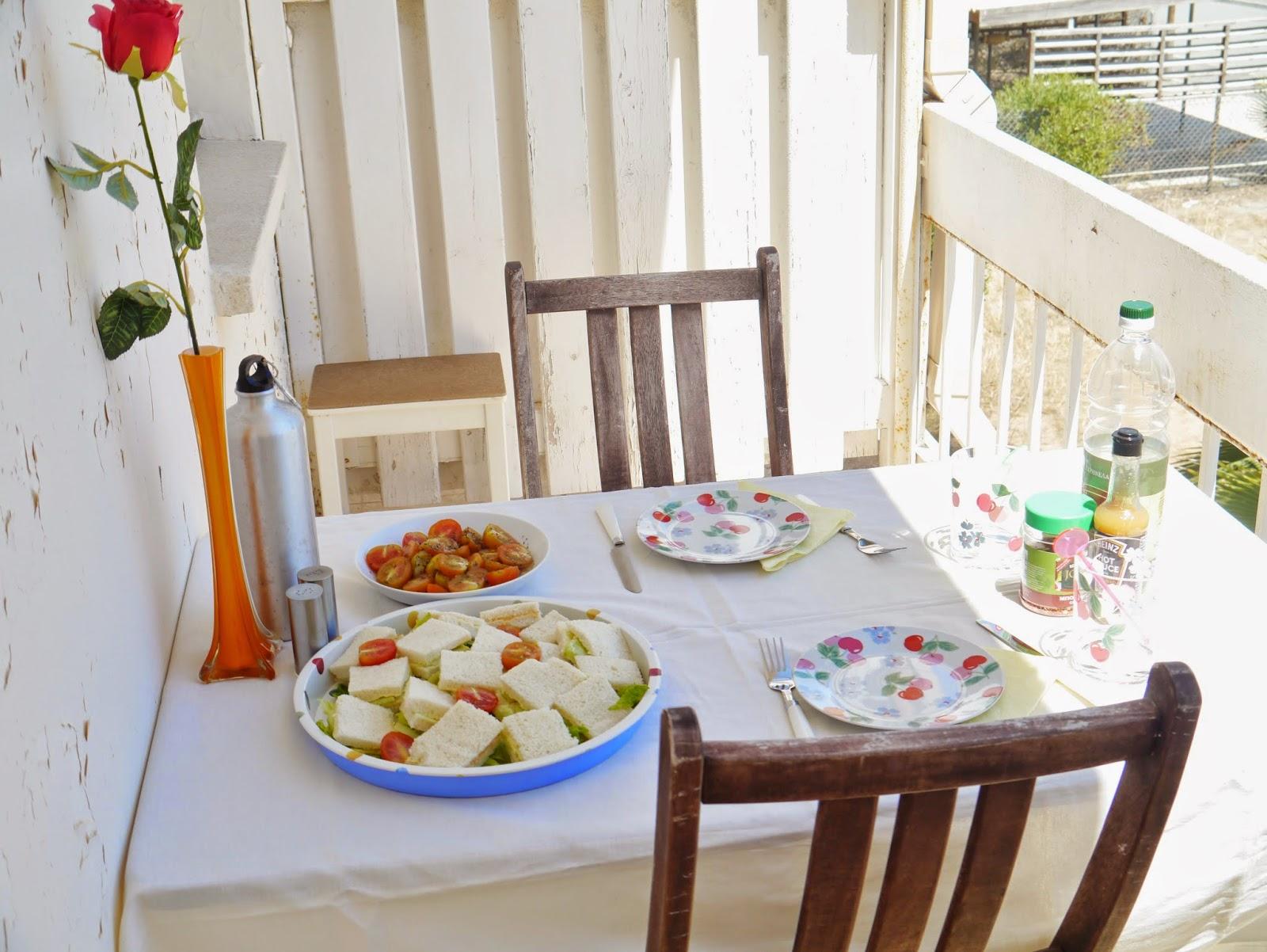 balcony lunch cyprus