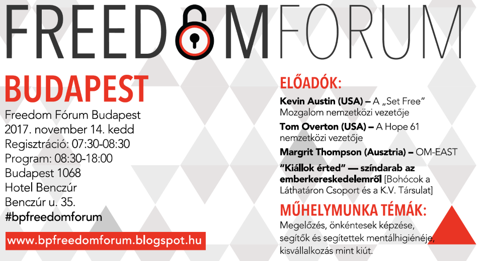 2017 Budapest Freedom Forum