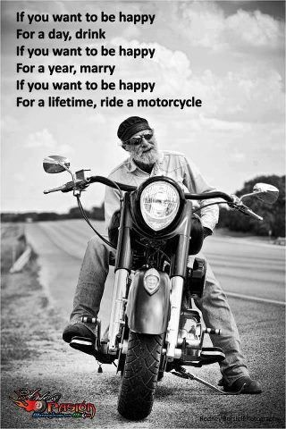 Favourite motorcycle quotes