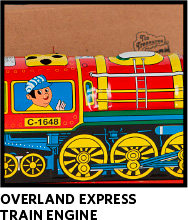 Overland Express Train Engine