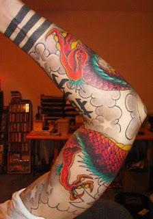 Tatuagens dragão chines