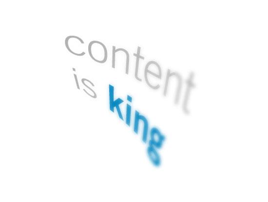 Kandungan blog adalah raja