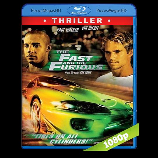 Rapido y Furioso (2001) Full HD BRRip 1080p Audio Dual Latino/Ingles 5.1