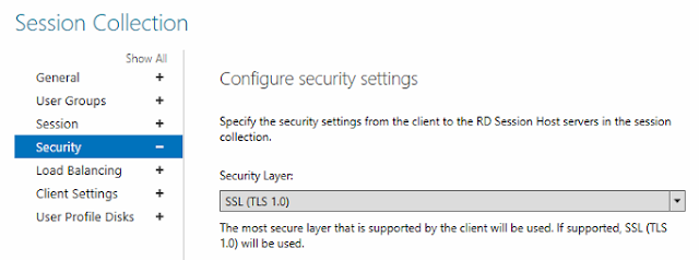 TLS 1.0 support in the RDS console