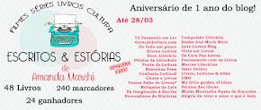 Promoção de aniversário: 1 ano do blog Escritos & Estórias