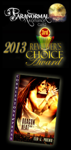 "3rd Place Winner - ""Vampires and Shifters"" Category - 2013 REVIEWER'S CHOICE AWARDS!"