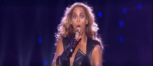 Beyonc's halftime scream fest | randomjpop.blogspot.co.uk