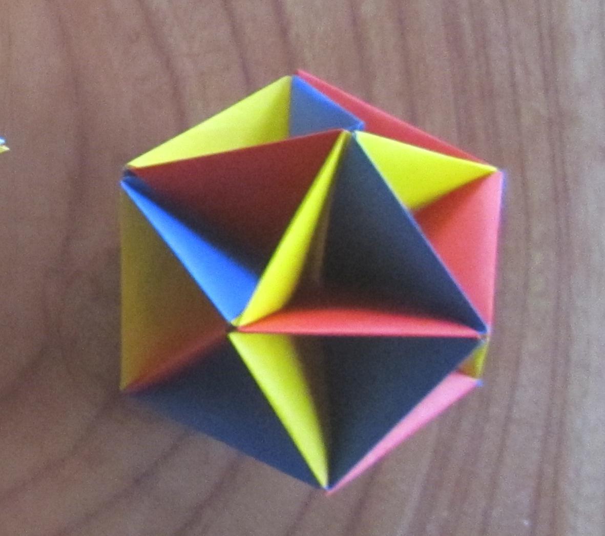すべての折り紙 ユニット折り紙多面体折り方 : 折り紙はあるし、折ってみる ...