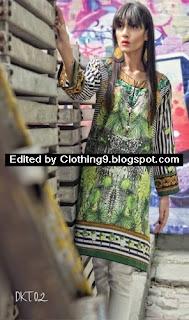 Maria B Mgirl Tunic Eid-ul-Adha Kurti Collection 2015