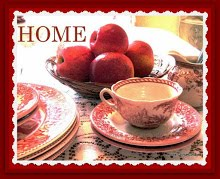 HOME (on Wednesdays) at Rose Chintz Cottage