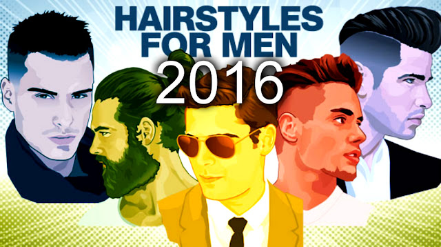 Top 5 hairstyles for men in 2016
