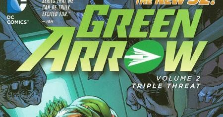 Review green arrow vol 2 triple threat trade paperback dc comics review green arrow vol 2 triple threat trade paperback dc comics collected editions fandeluxe Images