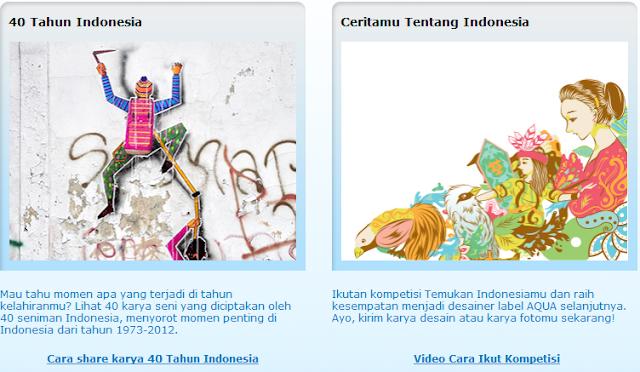 40 tahun aqua, Aqua Merupakan Air Meneral Indonesia, Ingat Sehat Ingat Aqua