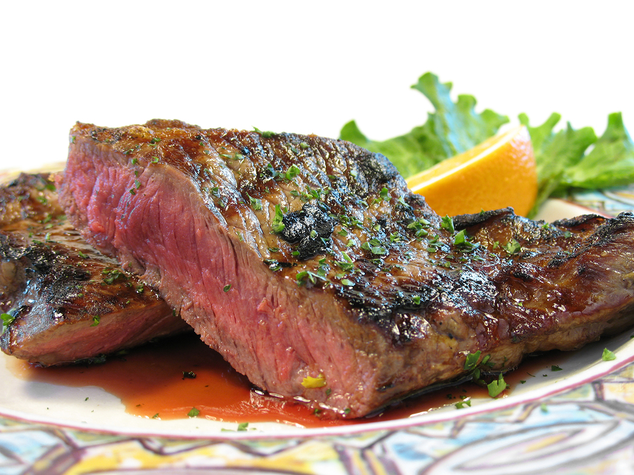 Lightly brushgrill grate with oil. Place steaks on the grill, and ...