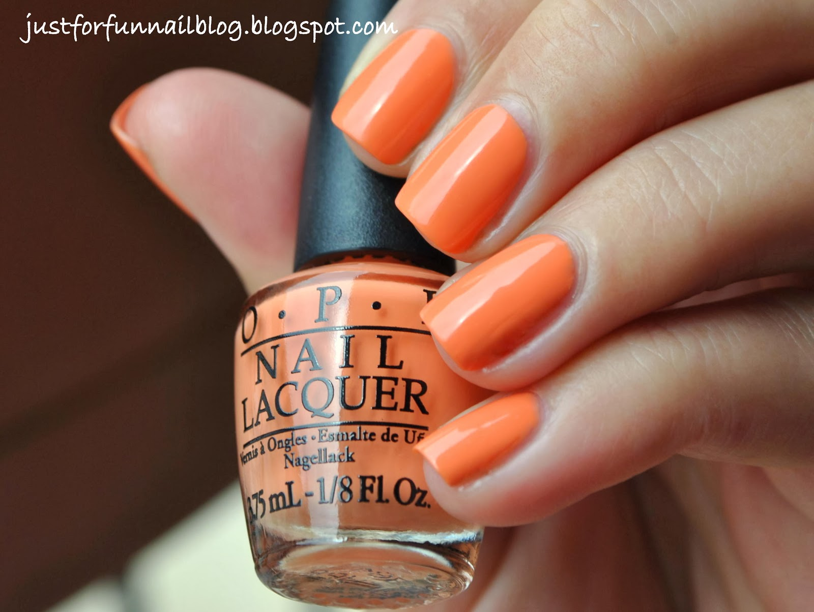 OPI Brazil Collection Where Did Suzi's Man-go? Swatch