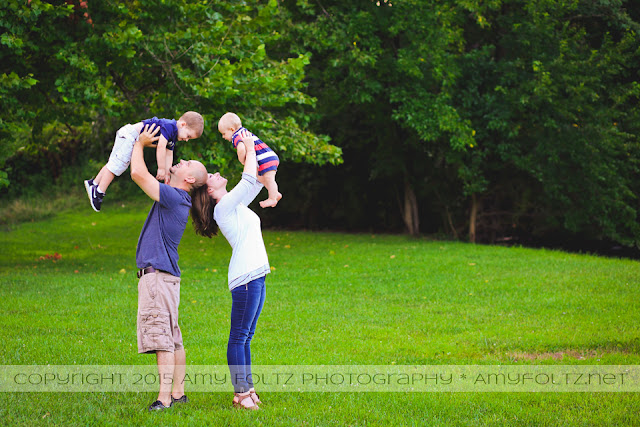 family photo session near Terre Haute, Indiana