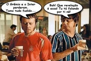 Internacional x Grêmio. Um GRENAL de fracassados.