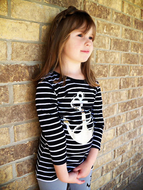 Girl Anchor Shirt