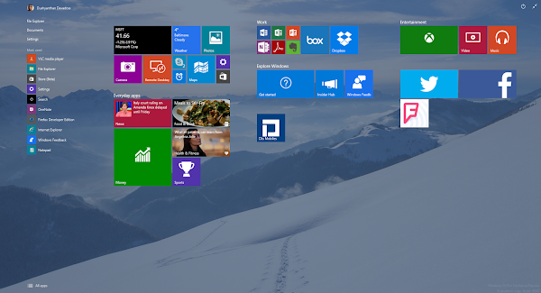 Windows 10 Preview build 10041