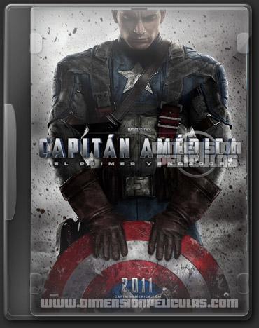 Capitan America (BRRip Español Latino) (2011)