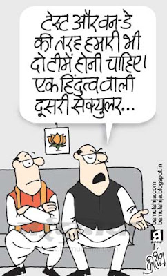 bjp cartoon, election 2014 cartoons, indian political cartoon, hindutva