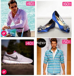 Buy John Player, Wills, Nike & Reebok at 40% off from Rs. 399 from Fashionandyou