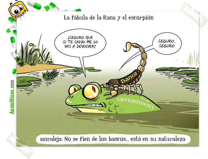 Chiste Bankia: Cuento con Moraleja