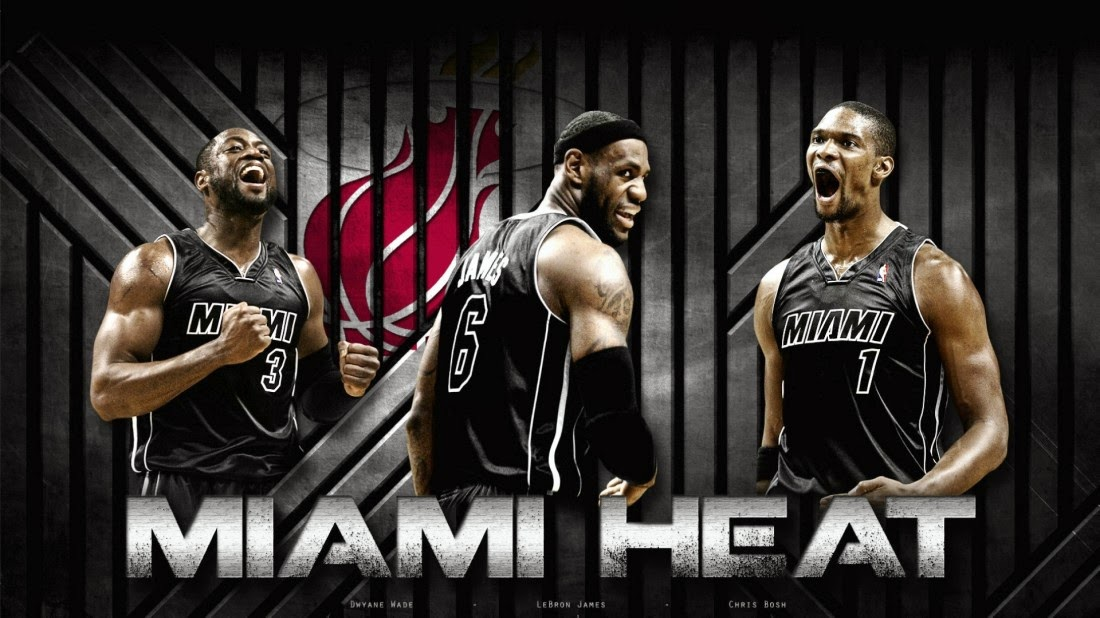 Miami Heat 2014 Wallpapers lebron james