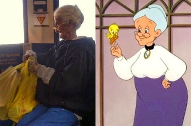15 Personajes de ficción que existen en la vida real la abuelita de piolin