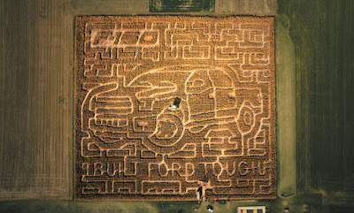 Get Lost in Ohio's Ford F-150-Themed Corn Maze This Fall