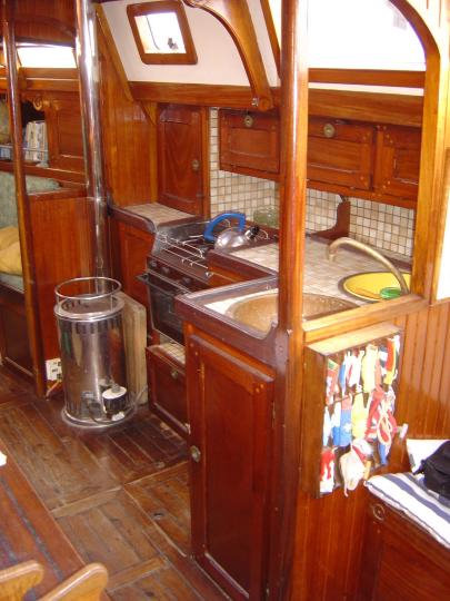 matins bleus voilier de voyage en acier plan caroff ile disko. Black Bedroom Furniture Sets. Home Design Ideas
