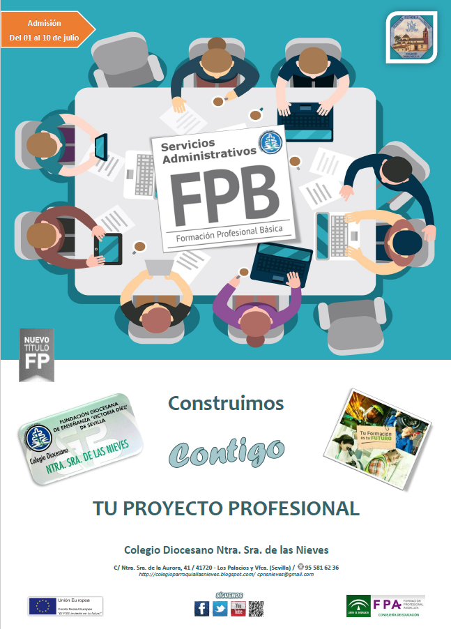 "FORMACIÓN PROFESIONAL BÁSICA ""SERVICIOS ADMINISTRATIVOS"""
