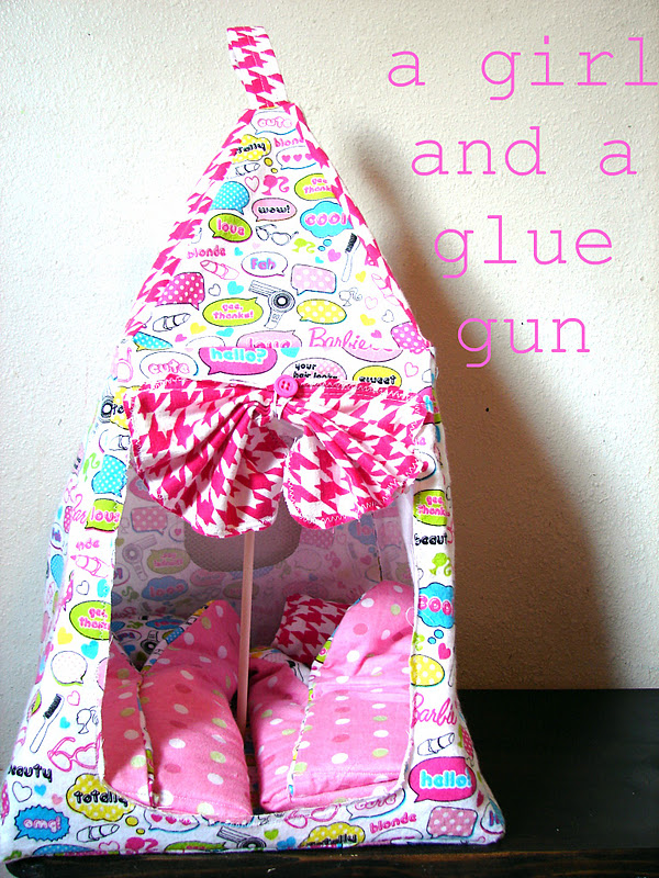 how to make doll shoes with glue gun